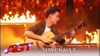 Marcin Patrzalek: Master Guitarist Is On FIRE and Proves Simon Wrong | America's Got Talent 2019
