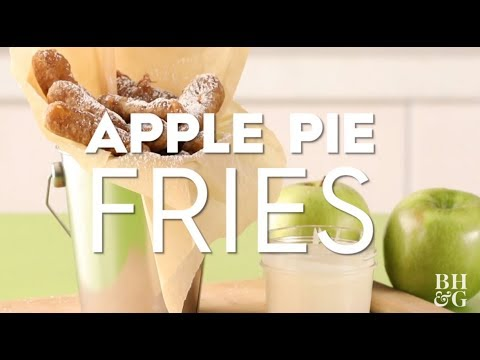 Apple Pie Fries | Fun With Food | Better Homes & Gardens
