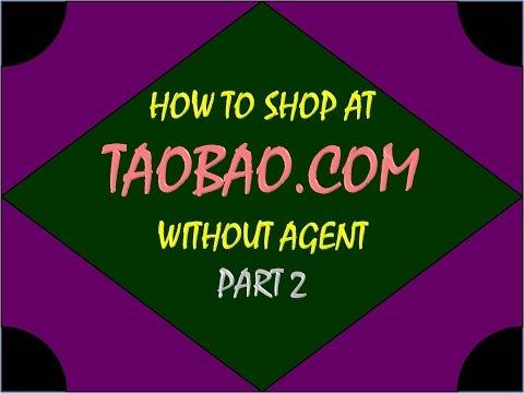 how to get taobao agent