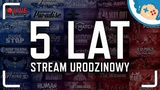 5 LAT KANAŁU - stream urodzinowy!   Część #4 - PoGRAdanka   Zapis LIVE