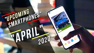 Top Upcoming Smartphones - April 2020 India