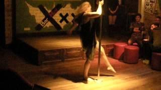 Pole dance | Танцы на пилоне | Отчётный концерт в Бархот 2012г.
