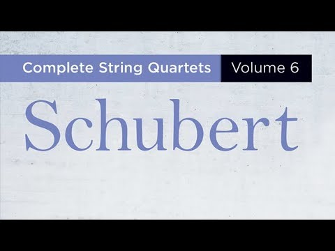 Schubert: Complete String Quartets Vol 6