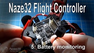 (5/8) Naze32 Flight Controller - Battery monitoring (vBat) and buzzers