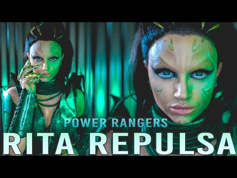 RITA REPULSA Power Rangers Movie Makeup Tutorial (No Prosthe