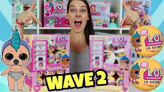 LOL SURPRISE SERIES 3 WAVE 2 Lil Sisters | 2 FULL CASES!! L.O.L Wave 2 Series 3 Confetti Pop dolls!