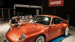 visiting Rupes Bigfoot car detailing centre in Italy
