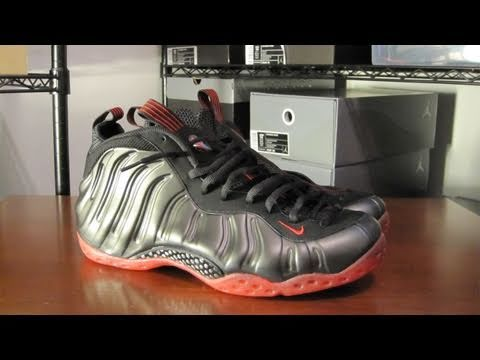 Nike Air Foamposite One Cough Drop Black Red