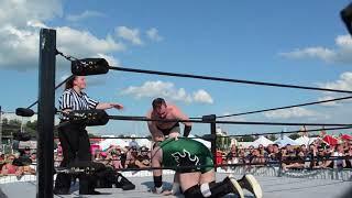 JSS Wrestlefest: Mike vs Justin Highlights