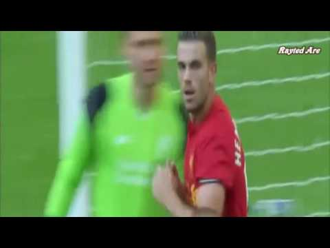 Jordan Henderson (Liverpool) vs Barcelona (6.Aug.2016)