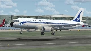 FSX HD | European Airlines Going Retro !