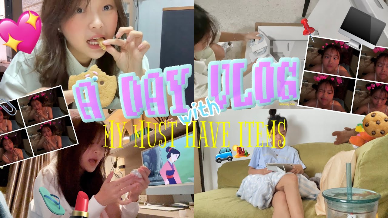 Download Lita's VLOG   A day vlog with my must have things🧊🧘🏼♀️🖥🐥, unboxing new imac👀💓 รอมาเป็นเดือน!