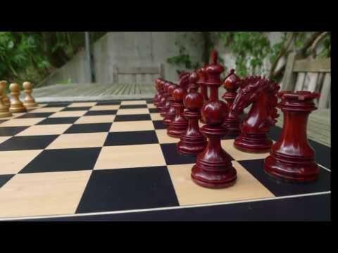 Wellington Staunton Chess Set - Most beautiful Chess Set ever