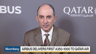 Qatar Airways CEO Al Baker on New Airbus Planes, Growth, Qatar Blockade
