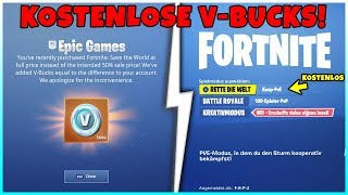 That's why Fortnite Players Get Free 5,000 V-Bucks! | EON Bundle & Save the World Bug