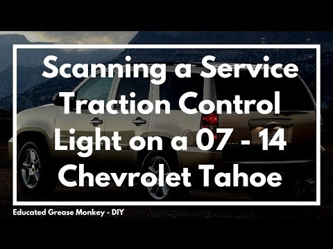2009 Chevy Tahoe w/ Service Traction Control & Stabilitrak Message - EGM Diagnosis #5