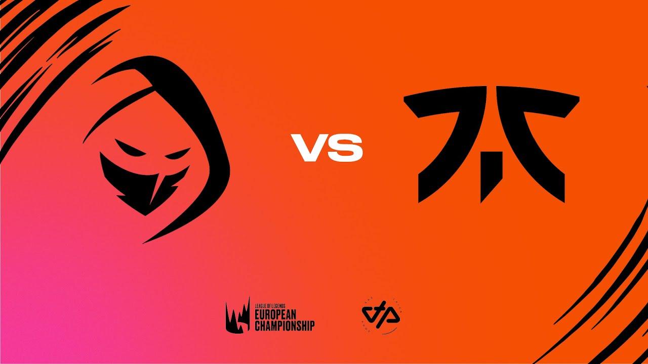 LEC Summer Split - W1D3 - RGE vs FNC