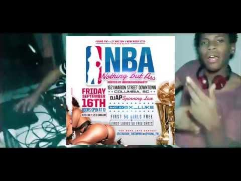 Young FM x Lit Nation - NBA Party (shot by @x_luke)