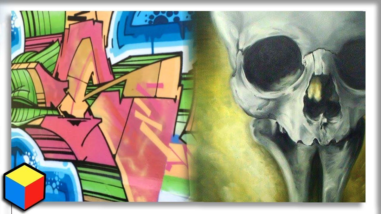 Secret to flow graffiti ➕ insane oil painting critique❗
