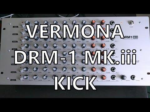 Vermona DRM1 Pt. 02 - Kick