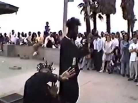 Nnutthowze Footage #1 - Tech N9ne, IcyRoc And Dynomack In Venice Beach, CA,  1994