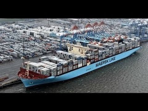 The World's Largest Mega Ship Launches for the First Time Full Documentary