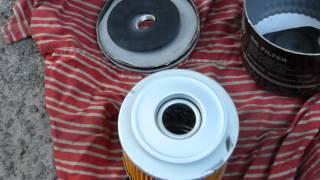 Масляный фильтр SCT SM 102 изнутри.(Новый)