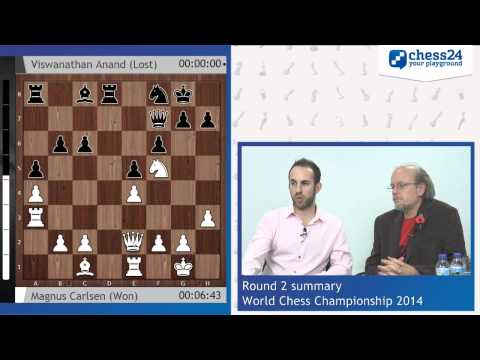 Chess World Championship, Game 2 with Lawrence Trent and Stuart Conquest