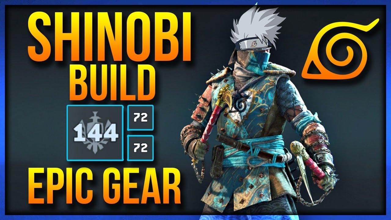 Shinobi Best Build For Honor