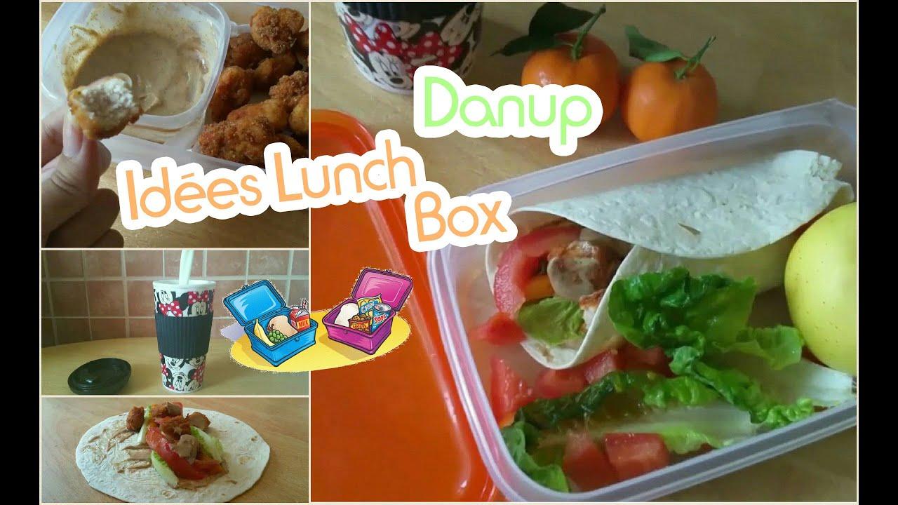 Fabuleux 2 Idées Lunch Box d'école/travail + Danup ♡ وصفات سهلة لانش بكس  BM88