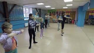 Классическая хореография фрагмент урока 1 Тазовой Влады январь 2019