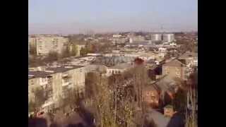Александрия с крыш   1(Александрия, Кировоградская область, Украина Вид города с крыши общежития