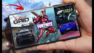 FINALMENTE GRID PARA ANDROID, FORTNITE IRON MAN,  FORZA MOBILE E MAIS