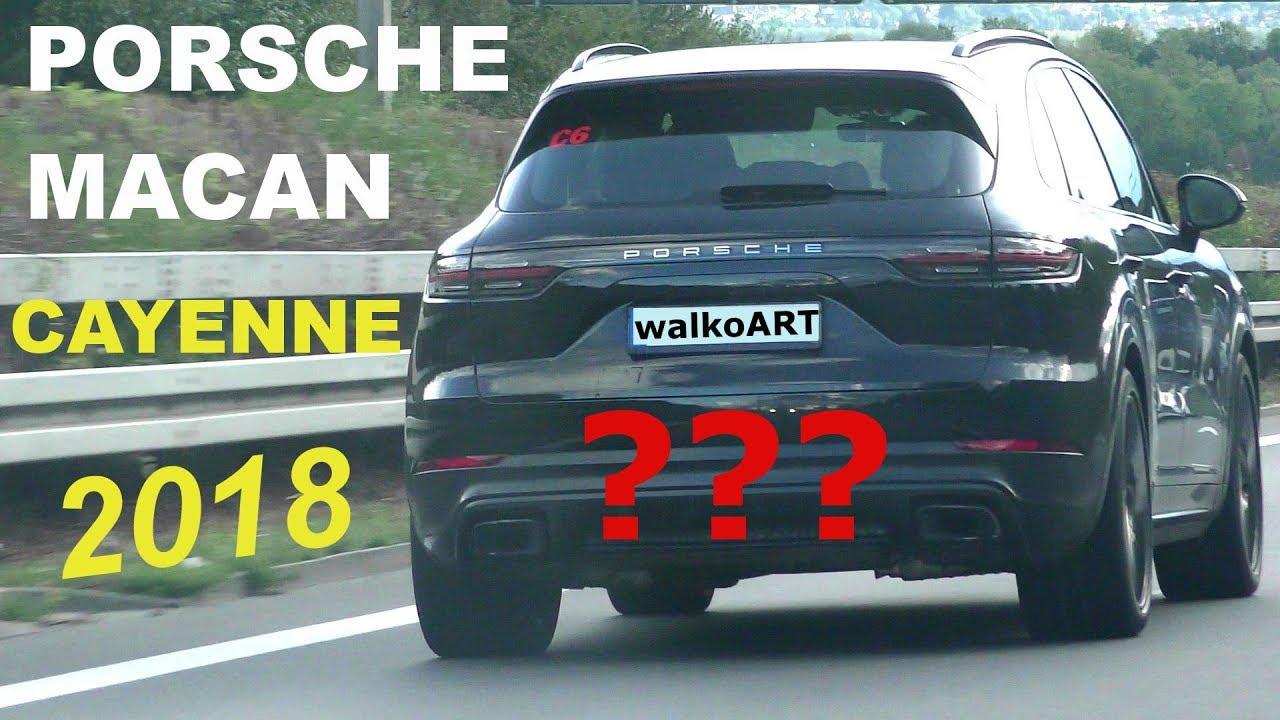 2019 Porsche Cayenne >> Erlkönig Porsche Macan Facelift? Cayenne? Prototype 2018 ...