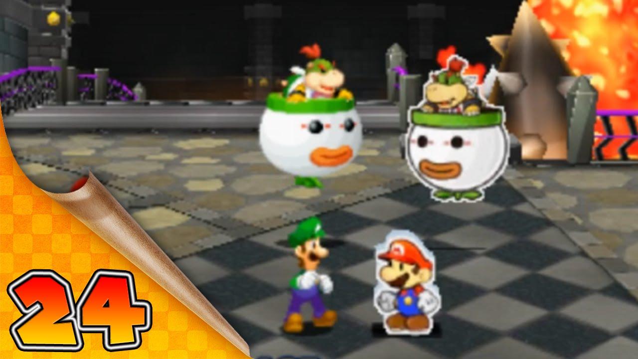 Mario Luigi Paper Jam Bros 24 Les 2 Bowser Jr
