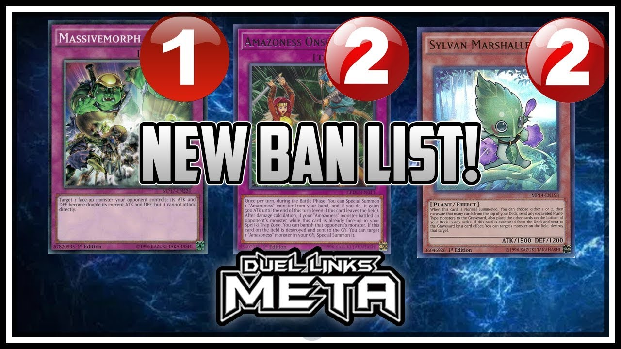 new banlist thoughts and