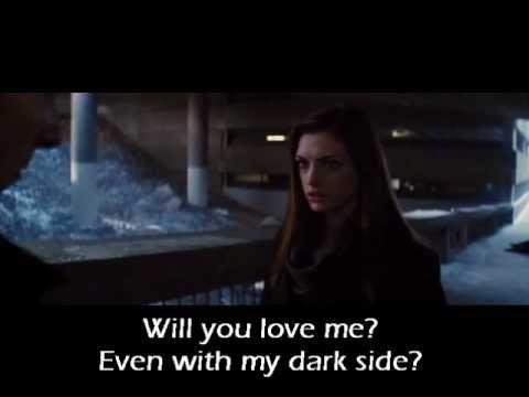 Kelly Clarkson- Dark Side (official video) (Batman and Catwoman) (lyrics)