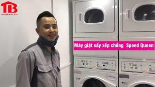 Máy giặt sấy xếp chồng Speed Queen gồm các tính năng gì?