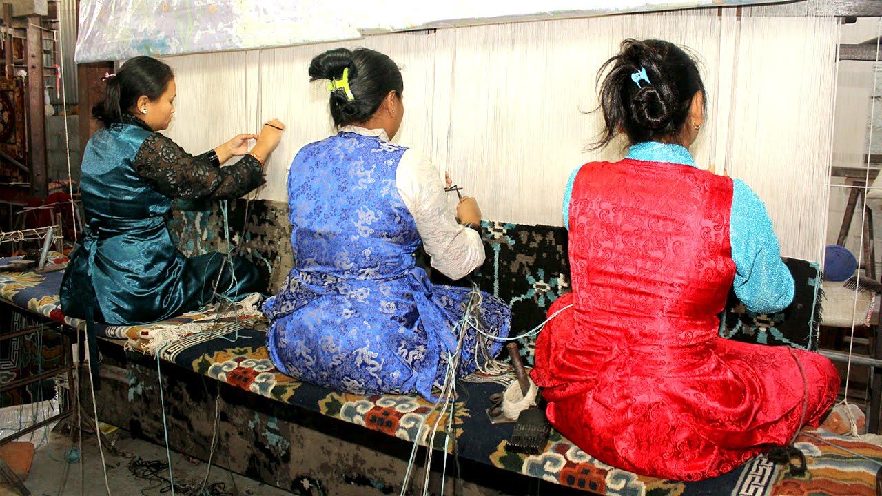 Tibetan Rugs Making Process In Nepal Buy Tibetan Rugs
