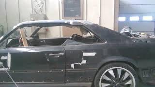 Парень переделал старый Мерседеса W124 в крутой мускул кар 430 л с BASTARD своими руками