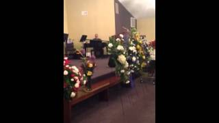 Rev. Ronnie Smart - Sulphur Rock Memorial Service - Clip 2 - Rev. Timothy Spell singing