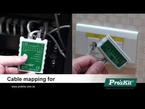 ProsKit 400-004 Multi-Modular Cable Tester Pro/'sKit
