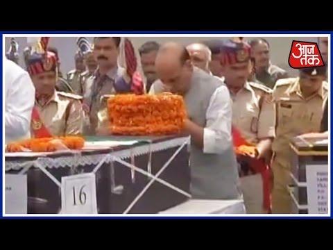 Sukma Maoist Attack: Rajnath Singh Pays Tribute To 25 CRPF Jawans