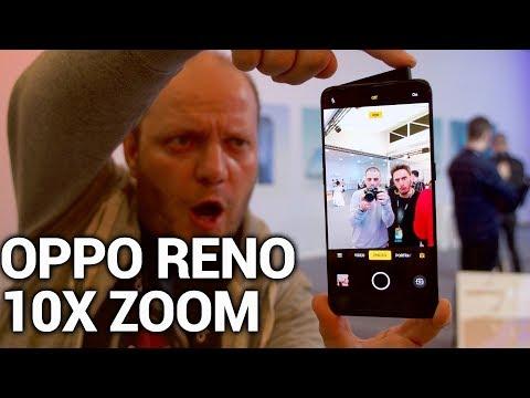 Oppo Reno Zoom X10 Zoom avec caméra retractable