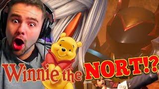 Winnie the NORT!? KEYBLADE WAR!?? - A Peasants Kingdom Hearts 3 Trailer Reaction
