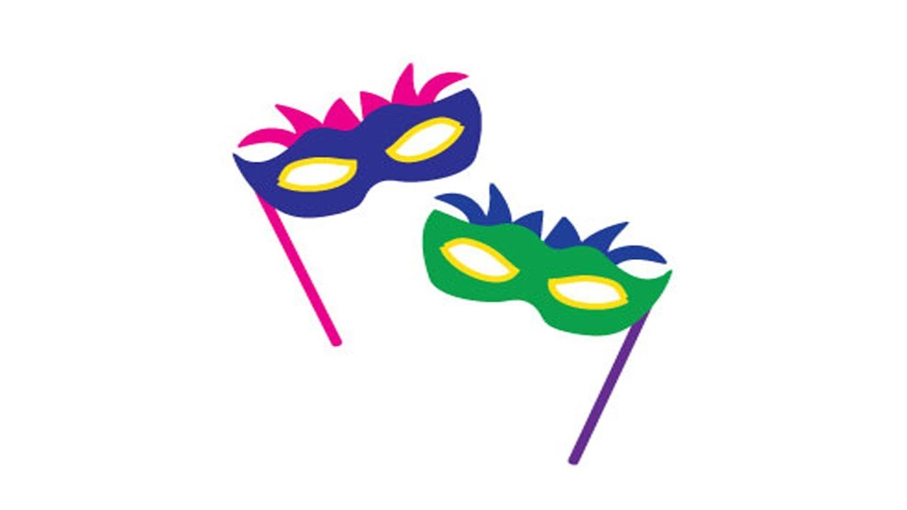 Coloring Pages-how to draw a masquerade mask - lace masquerade mask ...