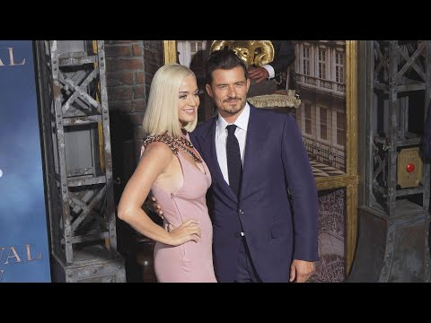 Watch Katy Perry and Orlando Bloom STUN at Red Carpet Premiere of Carnival Row