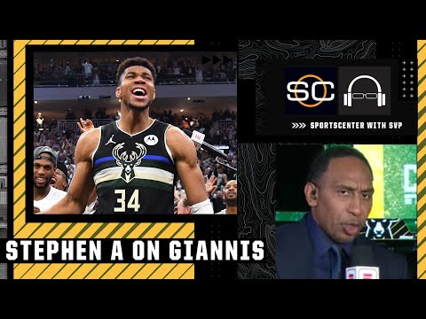 Giannis never ran from adversity - Stephen A. Smith | SportsCenter with SVP