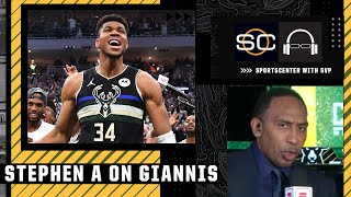 Giannis never ran from adversity - Stephen A. Smith   SportsCenter with SVP