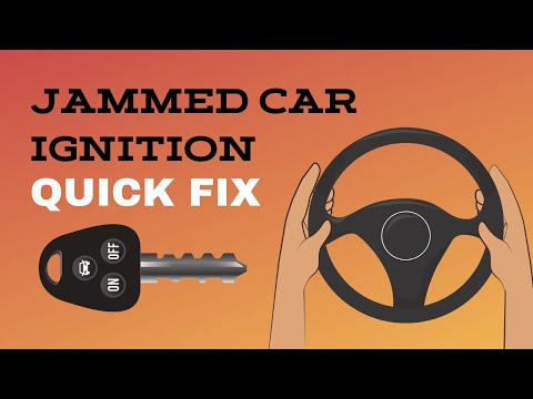 How To Fix A Jammed Car Ignition Youtube